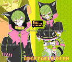 Toxic neko adoptable open by AS-Adoptables