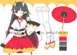Oni girl adoptable OPEN SET PRICE by AS-Adoptables