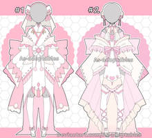 Sweet kimono outfit adoptables closed by AS-Adoptables