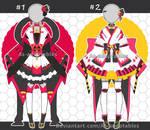 Kimono outfit adoptables open set price by AS-Adoptables