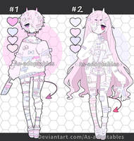 Sweet Oni adoptables closed by AS-Adoptables