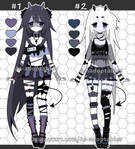 goth demon adoptables open set price by AS-Adoptables