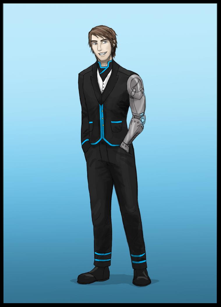 Commission: Halna Gowen's Formalwear by Drakarra