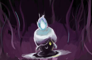 607 Litwick by Ipaintpokemon