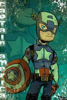 Captain America by kraola