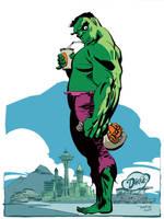 Hulk by Tim Sale by whoisrico