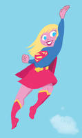 Supergirl Color by whoisrico