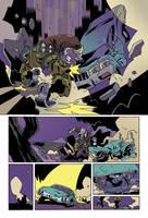 Atomic Robo pg2 Joe Dellagatta by whoisrico