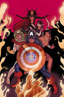 Thunderbolts 165 Cover with Joe Quinones by whoisrico