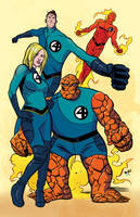 Fantastic Four by Wilfredo Torres by whoisrico