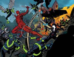 X-Men #39 spread by whoisrico