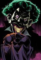 Batman/Joker by Kelley Jones and John Beatty by whoisrico