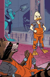 Howard The Duck #1 page 20 by whoisrico
