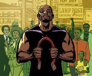Luke Cage by whoisrico