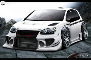 Volkswagen Golf V by jidens