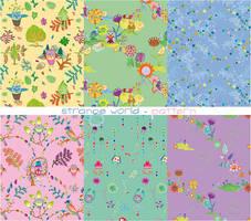 strange world - pattern by ZeBiii