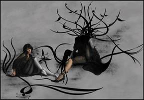 the lady by ZeBiii