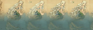 How I draw: Mermaid by Rochnan