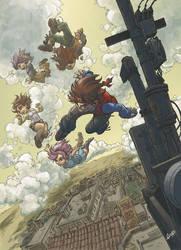 El comic de Ulises - Aku Ninja by mistermoster