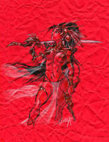 Dejah Thoris by mistermoster