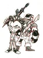 Punk Rock Jesus! by mistermoster