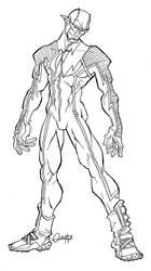 My JLA Flash by mistermoster