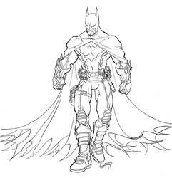 Ultimate JLA Batman by mistermoster