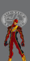 Ultimate JLA Flash colour by mistermoster