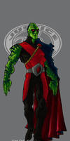 JLA Ultimate Manhunter colour by mistermoster