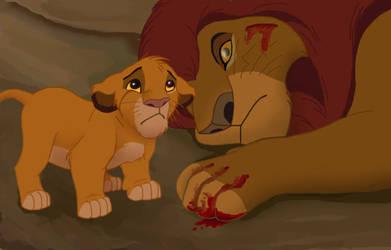 Literal Lion King Series - Dead Eyes by NostalgicChills