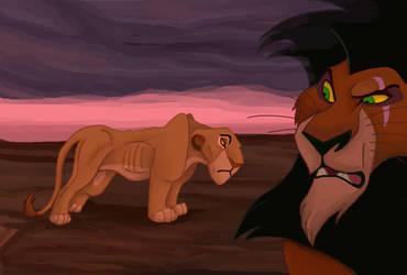 Literal Lion King Series - Starve by NostalgicChills
