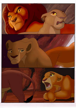 Literal Lion King: Marital Problems by NostalgicChills