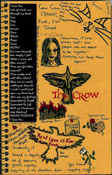 My Own Grief :Crow Fan-Art: by AmberJadex