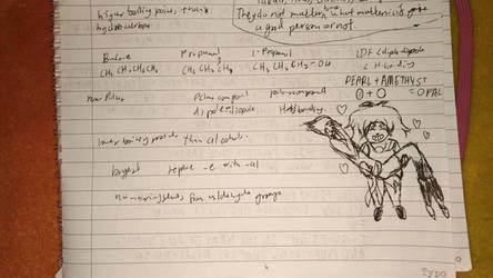OTP Doodles in class Part 2 by Megu2910