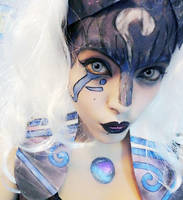 Kindred Makeup, League of Legends! by Danonea