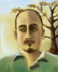 Digital Self Portrait by KidNebula