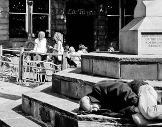 Street Sleeper by KidNebula