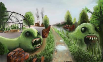 Canal Mutants by KidNebula