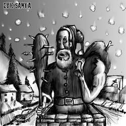 Evil Santa by KidNebula