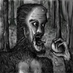 Wildman Bigfoot by KidNebula