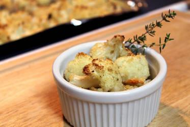 Roasted Cauliflower by jujub33ns