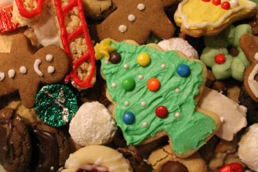Christmas Cookies by jujub33ns