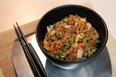 My Pretend Fried Rice by jujub33ns