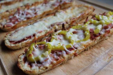 Cauliflower Crust Pizza by jujub33ns