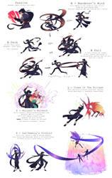 LOL - Kitic The Wayward Move Set by Hieislittlekitsune