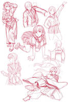 clothes practice by gimei