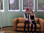 Kurtz and Razz in Sims 1 by Razmantyz