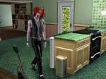 Kurtz in Sims by Razmantyz