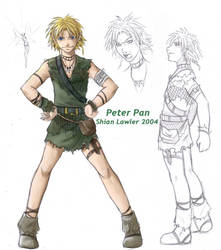 Peter Pan X3 by puppetthing