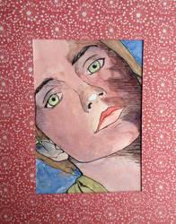 Emma in Red Frame by thcrane